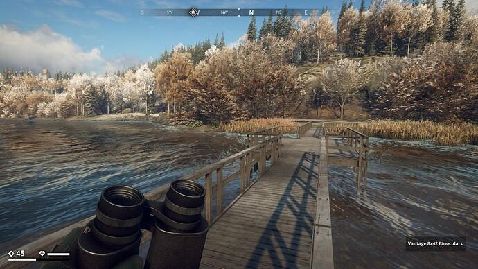 (F) Pier bridge to safehouse on small island north of Helgard