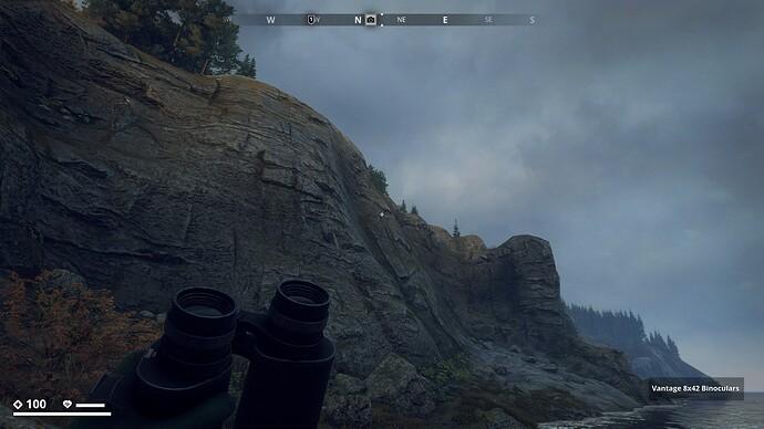 Beautiful, sculpted rocky Mountain Wall in Archipelago Region
