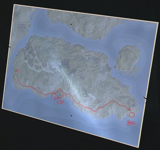 15 Map of Himfjäll found in Enhyttan Camping grounds in the DLC side-mission The Response