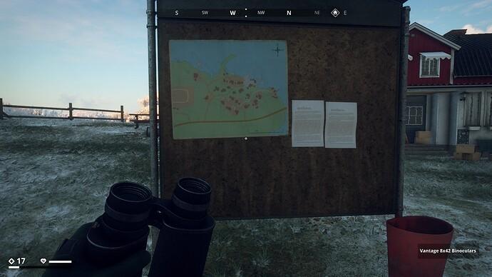 29 Map of Salthamn on Billboard in Helgaryd