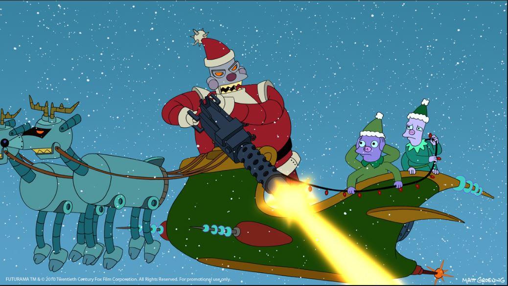 Futurama-Santa-Claus
